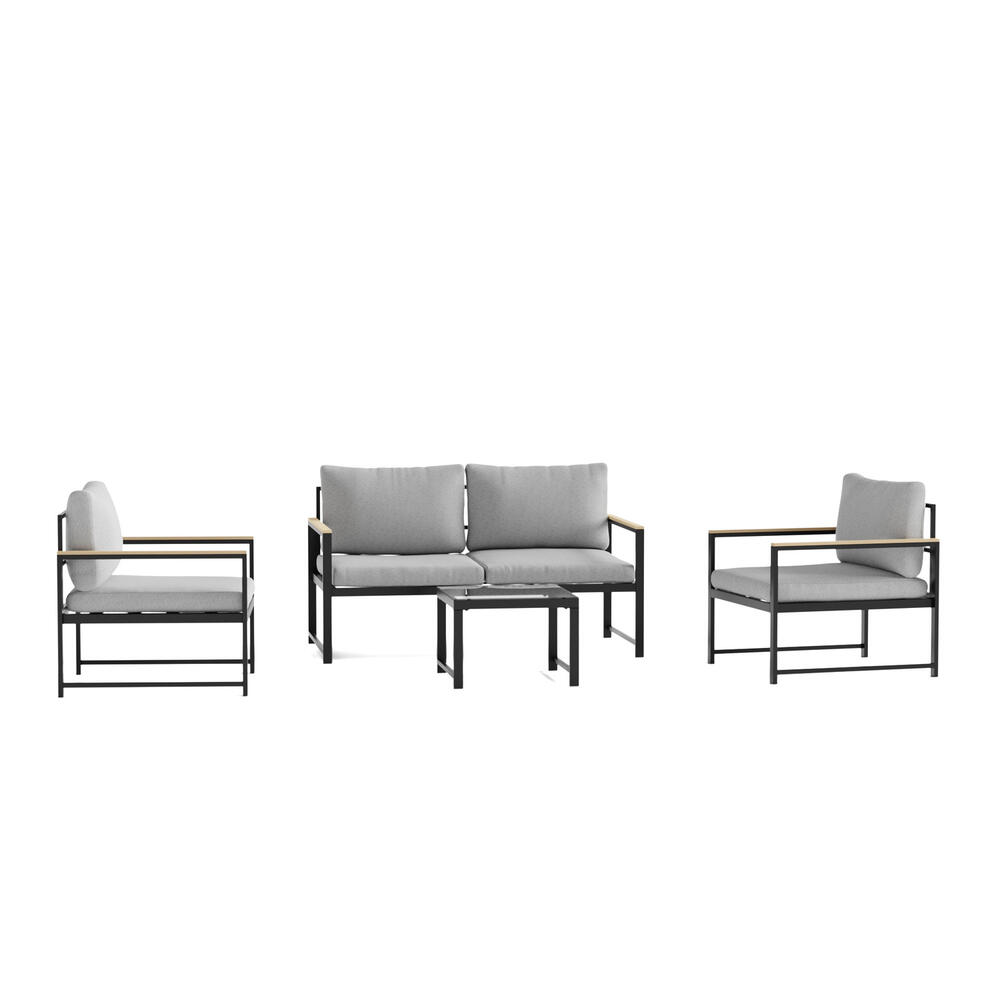 Burbank Outdoor Aluminum Furniture Set - Chair