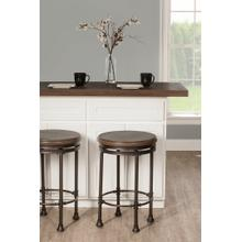 See Details - Casselberry Backless Round Swivel Counter Stool
