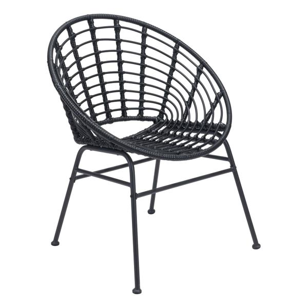 See Details - Cohen Dining Chair Black