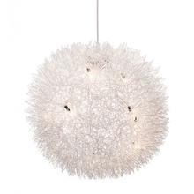 Warp Ceiling Lamp Aluminum