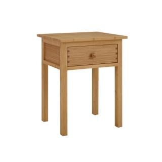 Hosta Nightstand, Caramelized