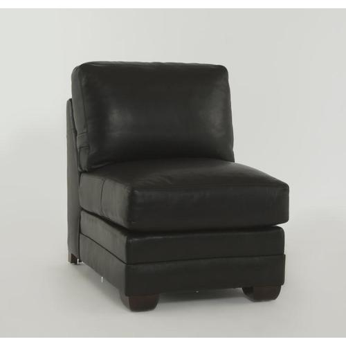 Leatherstone Armless Chair for Sleeper