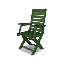 Green Captain Dining Chair