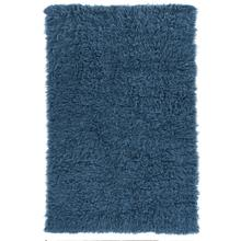 Flokati Heavy Denim Blue Rug