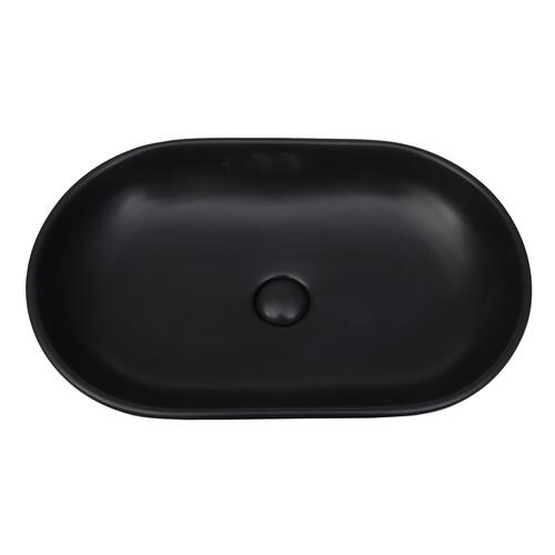 Harmony Oval Above Counter Basin - Matte Black