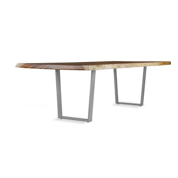 See Details - Metal Trapezoid Dining Height Base