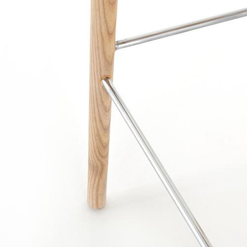 Bar Stool Size Natural Finish Maddie Bar + Counter Stool