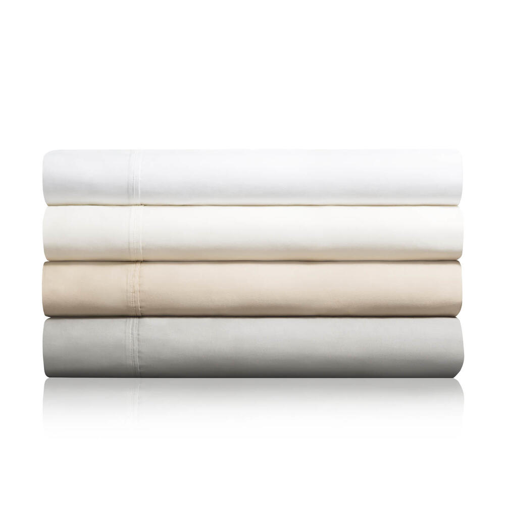 600 TC Cotton Blend Queen Pillowcase Driftwood