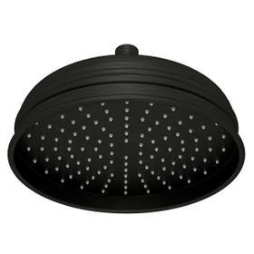 "Old Iron 8"" Bordano Rain Anti-Calcium Showerhead"