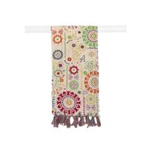 "18"" x 72"" Multicolor, Kantha - Scarf"