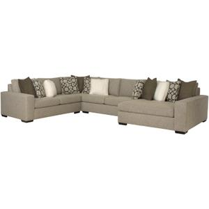 Orlando Sectional in Mocha (751)