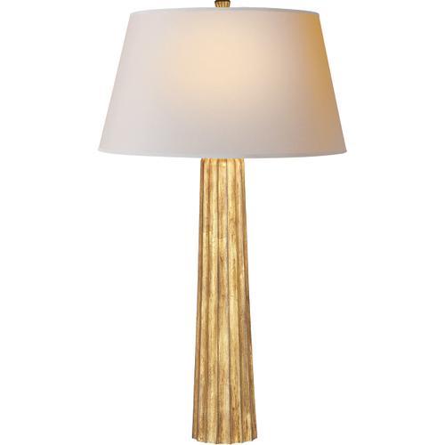 Visual Comfort - E. F. Chapman Fluted Spire 32 inch 150.00 watt Gilded Iron Decorative Table Lamp Portable Light