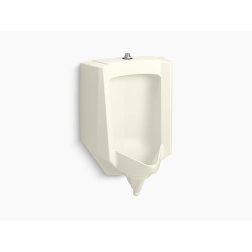 Biscuit Blow-out 0.5 To 1.0 Gpf Urinal With Top Spud
