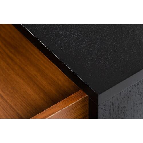 VIG Furniture - Modrest Bonfoy - Modern Black Ash Console Table