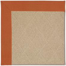 """Product Image - Creative Concepts-Cane Wicker Canvas Rust - Rectangle - 24"""" x 36"""""""