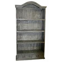 See Details - Charcoal Gray Bookcase