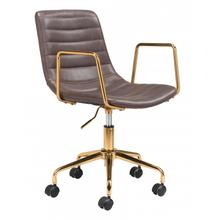 See Details - Eric Office Chair Brown
