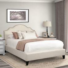 CHARLOTTE - FLOUR Upholstered Bed Collection (Natural)