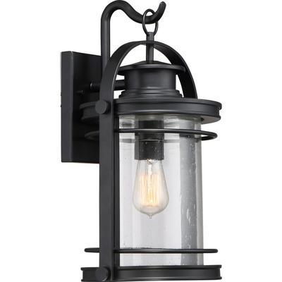 See Details - Booker Outdoor Lantern in Mystic Black