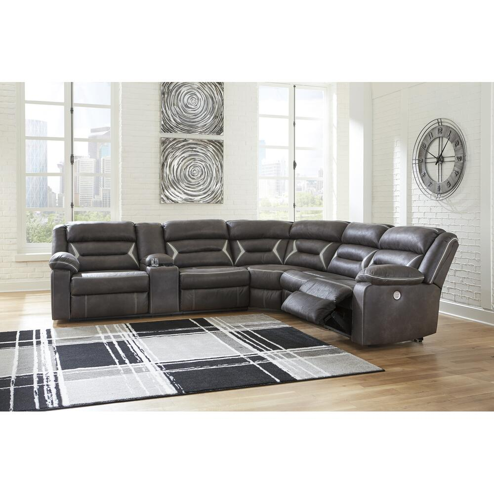 Kincord 3-piece Power Reclining Sectional