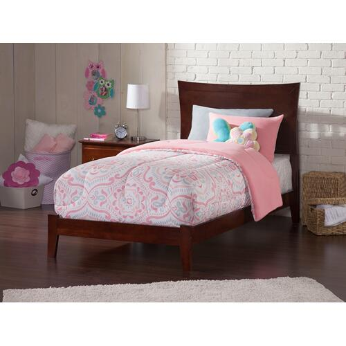 Metro Twin XL Bed in Walnut