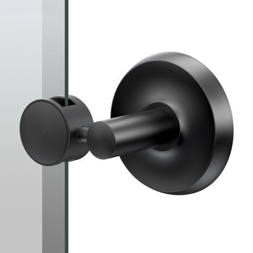 Designer II Oval Mirror in Matte Black