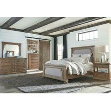 Florence Traditional Rustic Smoke and Grey Queen Five-piece Set