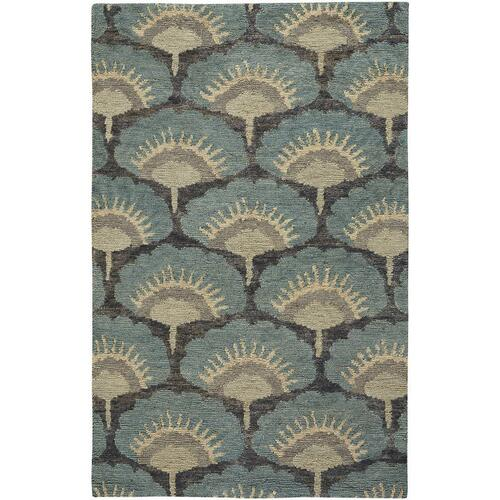 Isobel Oasis Blue - Rectangle - 5' x 8'