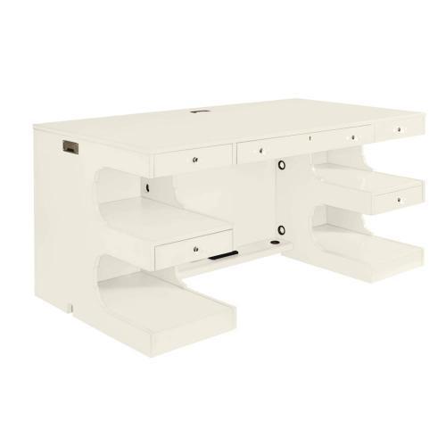 Latitude Writing Desk - Saltbox White