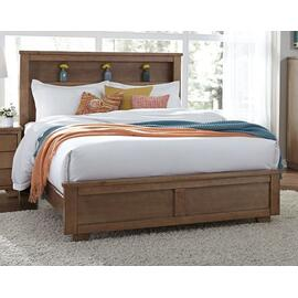 6/6 King Bookcase Headboard - Dune Finish
