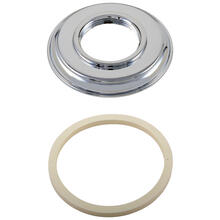 Chrome Handle Base w/ Gasket - Roman Tub