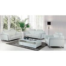 Product Image - Divani Casa Huron Modern White Leather Sofa Set