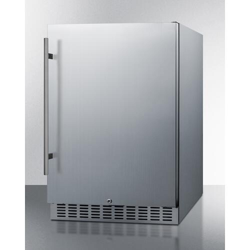 "24"" Wide Built-in Outdoor All-refrigerator"