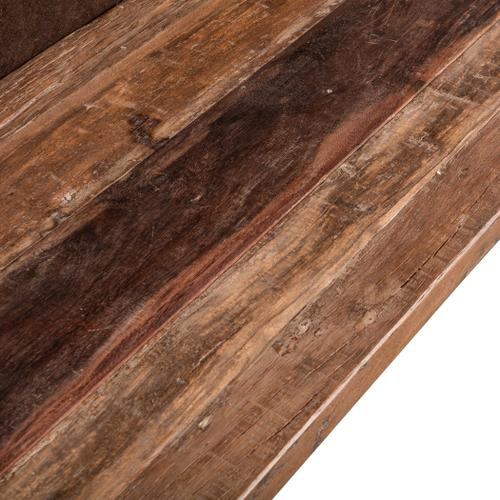 """Old Mill 80"""" Reclaimed Wood Bench"""