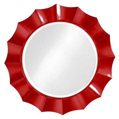 Howard Elliott - Corona Mirror - Glossy Red