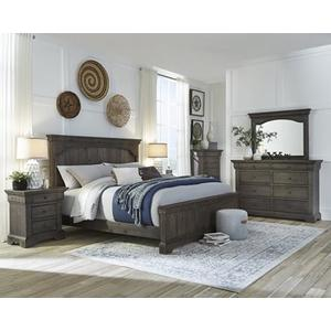 Drawer Dresser - Char-Brown Finish