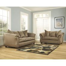 See Details - Signature Design by Ashley Darcy Living Room Set in Mocha Microfiber