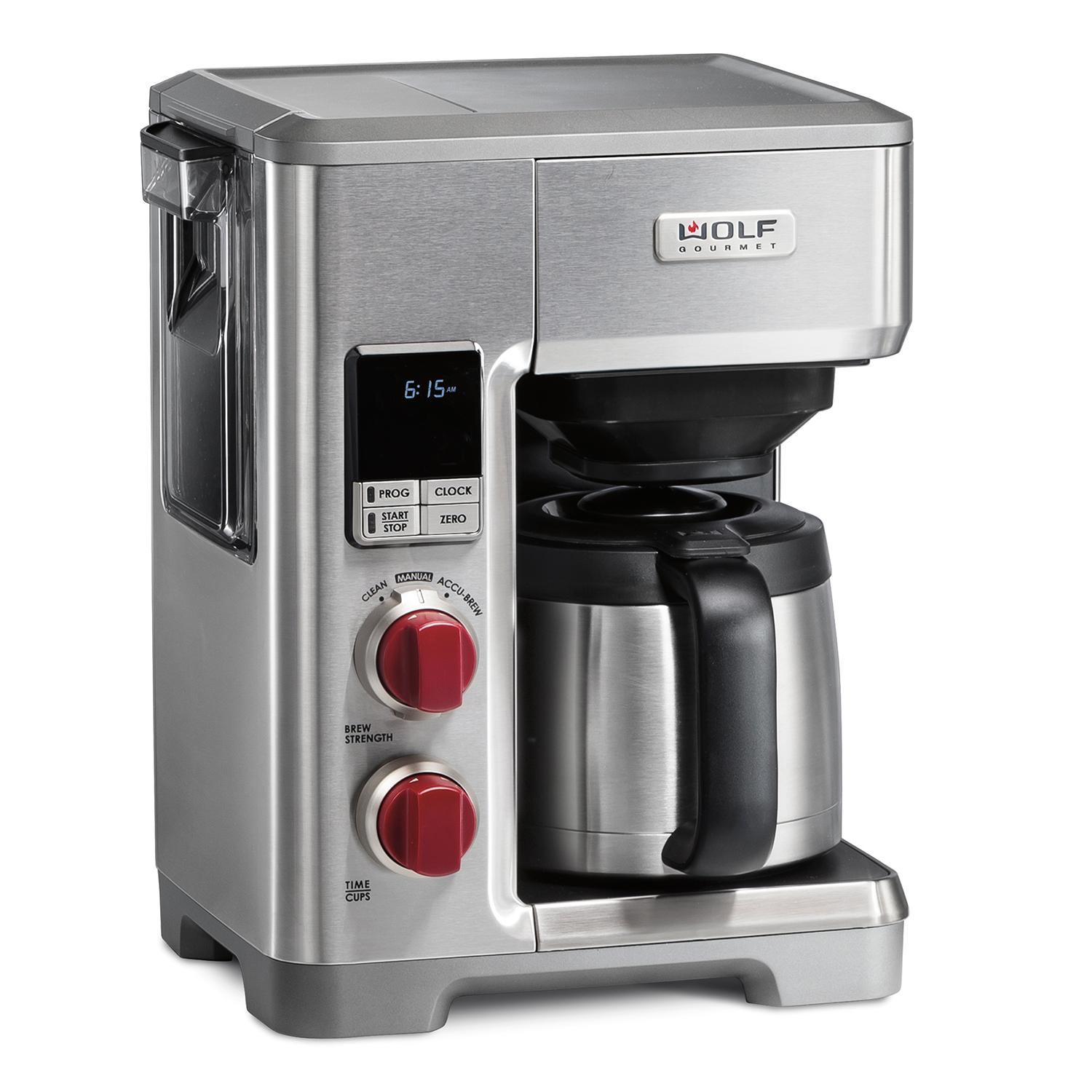 WolfProgrammable Coffee System Black Knob