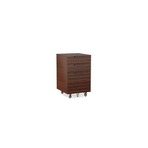 Mobile File Pedestal 6507 in Chocolate Stained Walnut