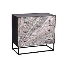 See Details - Drawer Chest - Gray Bark/Iron Finish
