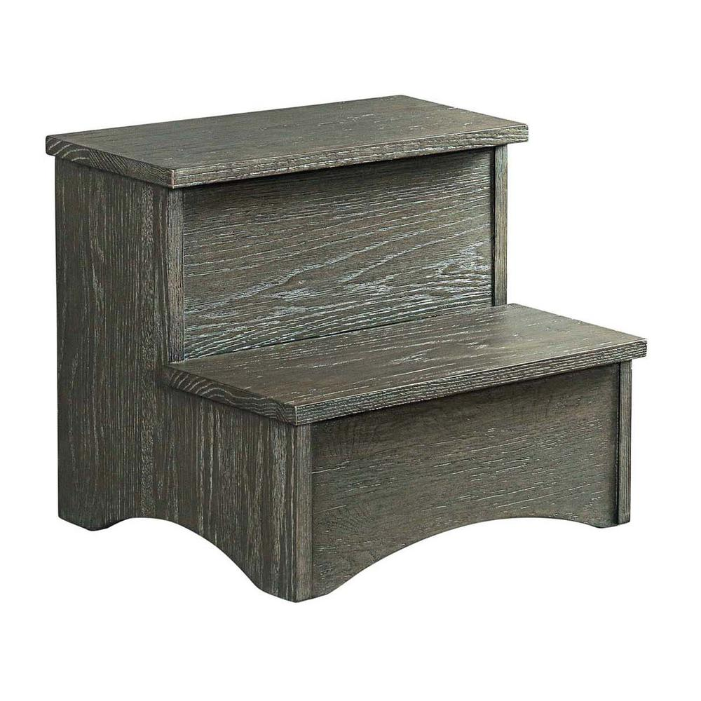 Oak Park Step Stool  Pewter