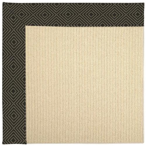 "Creative Concepts-Beach Sisal Fortune Lava - Rectangle - 24"" x 36"""
