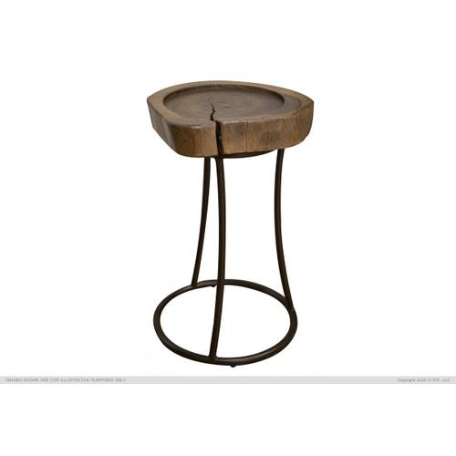 Martini Table w/ Iron Base