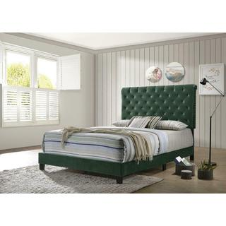 Trinity Queen Bedframe Green