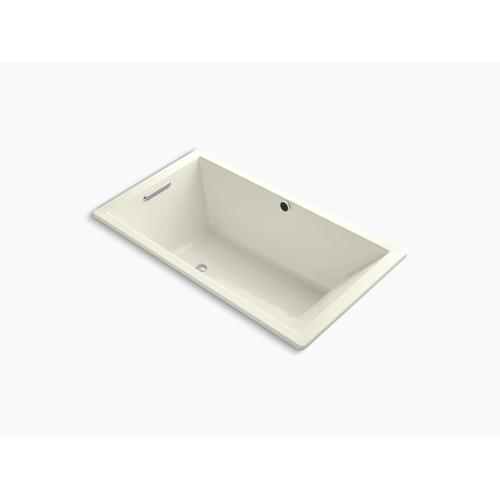 """Biscuit 66"""" X 36"""" Drop-in Bath With Bask Heated Surface and Reversible Drain"""