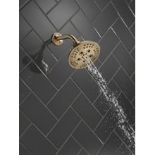 Champagne Bronze H 2 Okinetic ® 5-Setting Transitional Raincan Shower Head