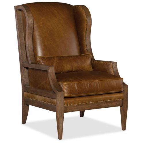 Living Room Laurel Laurel Exposed Wood Club Chair