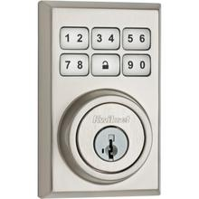 View Product - 910 SmartCode Contemporary Electronic Deadbolt with Zigbee Technology - Satin Nickel