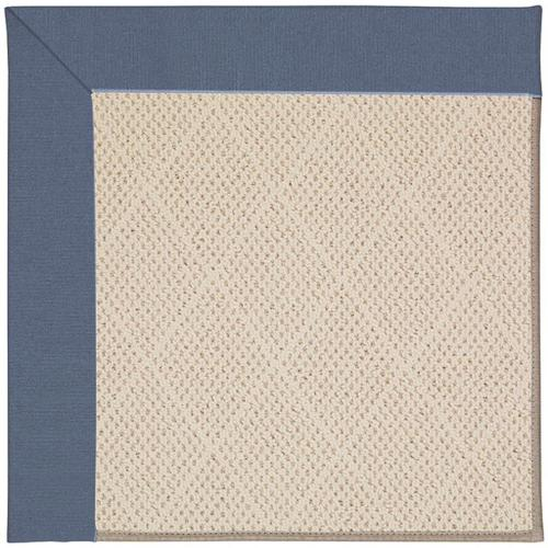 "Creative Concepts-White Wicker Canvas Sapphire Blue - Rectangle - 24"" x 36"""