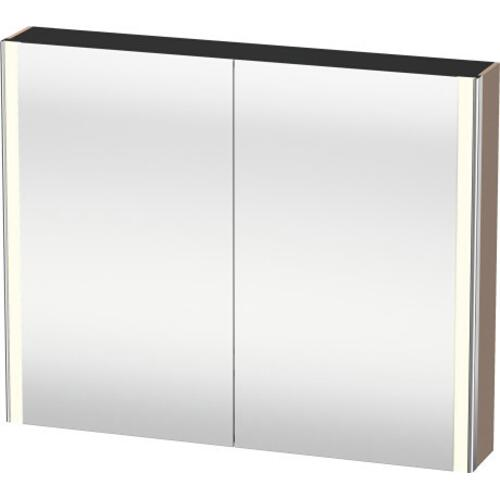 Duravit - Mirror Cabinet, Cappuccino High Gloss (lacquer)